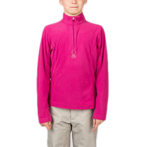 Spyder Girl's Chloe Velour Fleece T-Neck - Kids