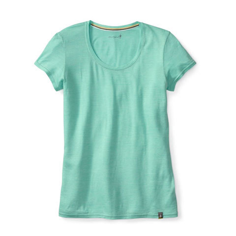 Smartwool Solid Scoop Tee - Women's