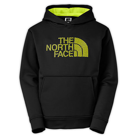 The North Face Surgent Logo Hoodie - Boys - Outdoor Gear