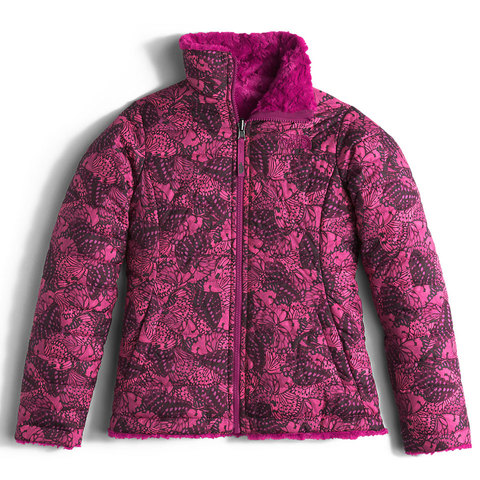 The North Face Reversible Mossbud Swirl Jacket - Girls