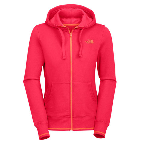 The North Face Logo Stretch Full Zip Hoodie - Womens
