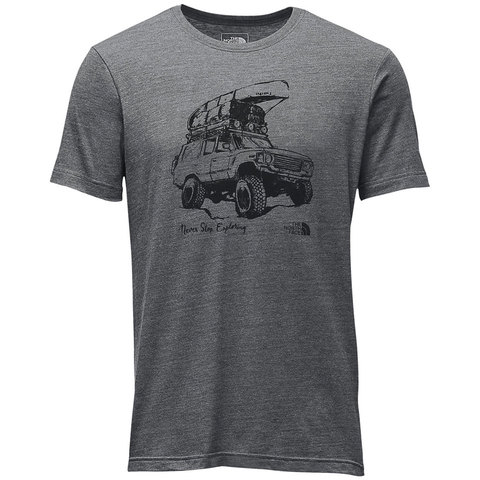 The North Face Short Sleeve Off Road Tri-Blend Tee