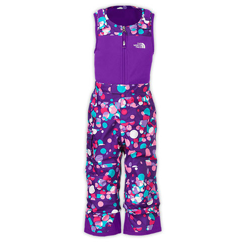 The North Face Toddler Girl's Insulated Snowdrift Bib - Kids'