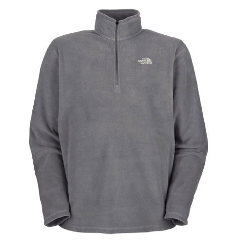 The North Face TKA 100 Microvelour Glacier Quarter Zip