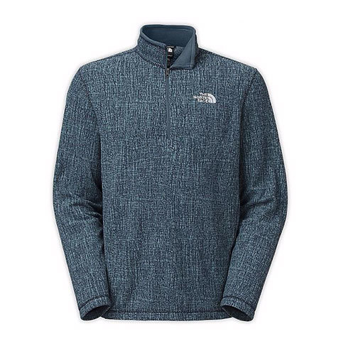 The North Face TKA 100 Novelty Glacier 1/4 Zip - Mens - Outdoor Gear