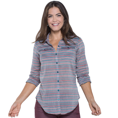Toad & Co Airbrush LS Deco Shirt - Women's