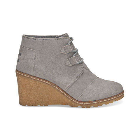 Toms Desert Wedge Boots - Women's