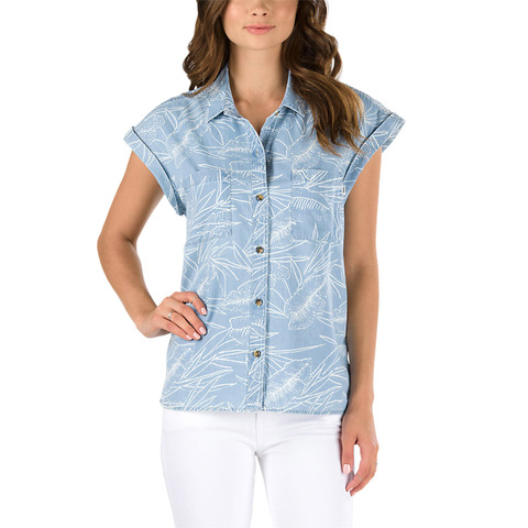 Vans Sundazed Denim Top - Women's