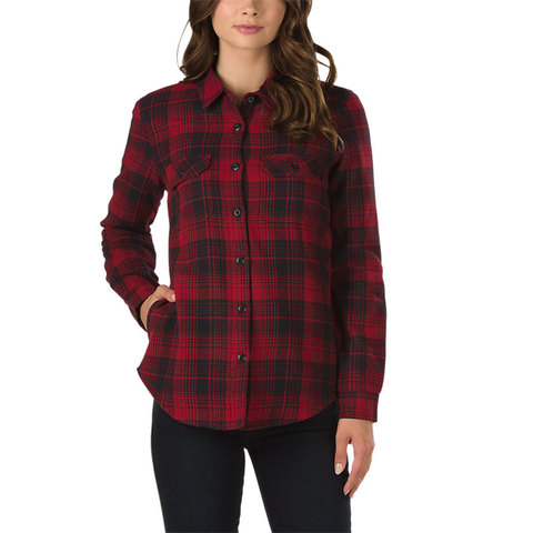 Vans White Owl Flannel Jacket - Women's