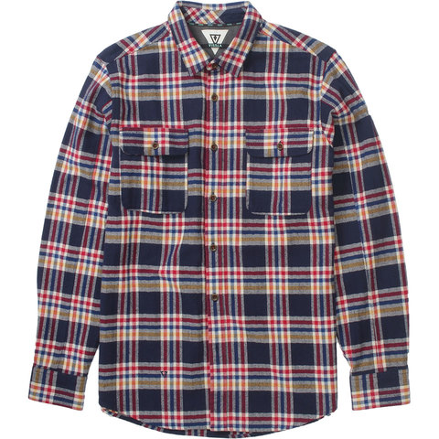 Vissla The Bluff Plaid Shirt