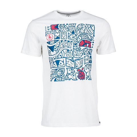 Volcom Don Pendleton Pattern S/S Tee - Mens - Outdoor Gear