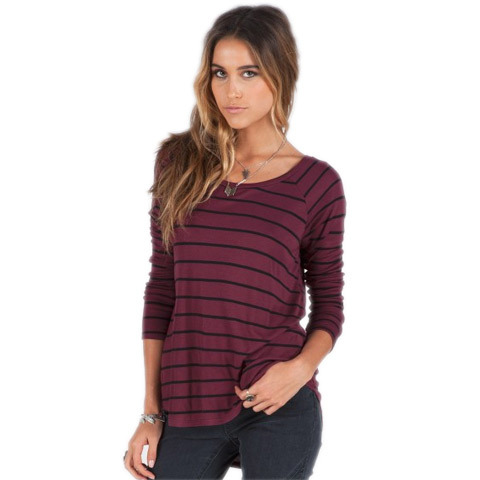 Volcom Lived In Rib Long Sleeve - Women's