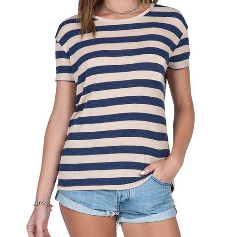 Volcom Lived In Rib Tee - Womens - Outdoor Gear