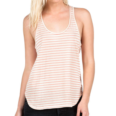 Volcom Lived In Stripe Tank - Womens - Outdoor Gear