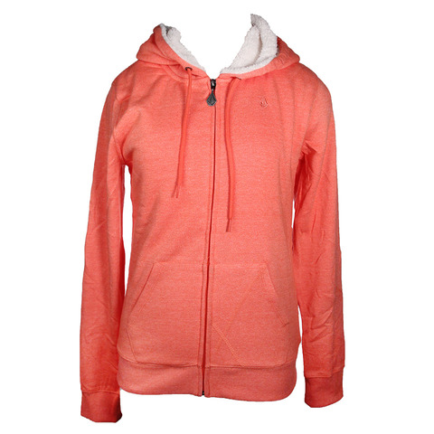 Volcom Moclov Sherpa Zip Up Hoody