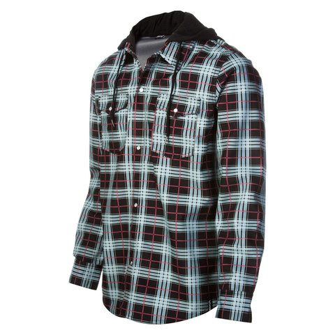 Buy flannel shirts - Volcom Redding Flannel Shirt Blk Sm