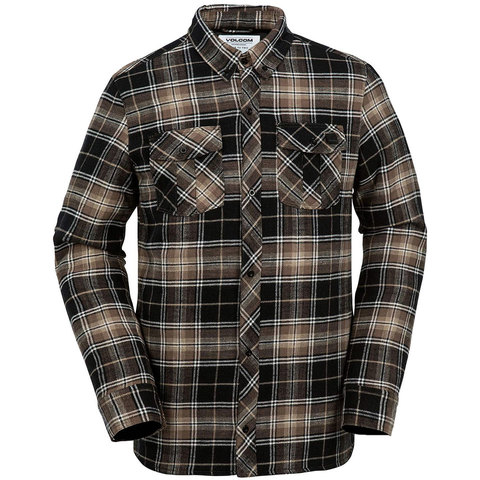 Volcom Sims Ins. Flannel Jacket