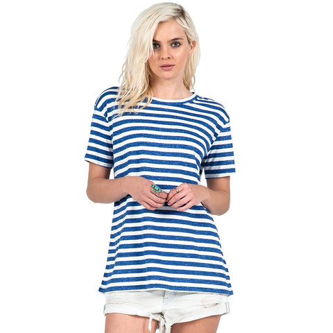 Volcom Stripe Tees Top - Women's