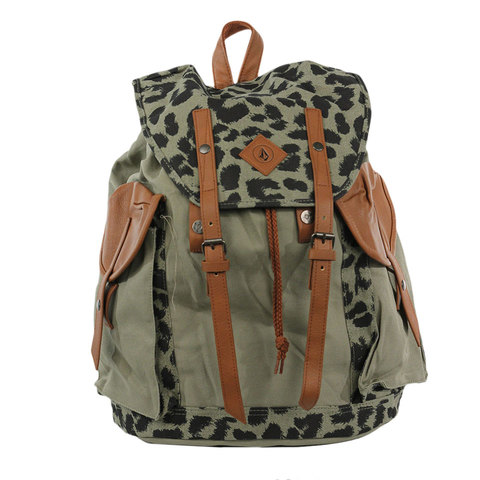 Volcom Wayward Canvas Ruck Backpack