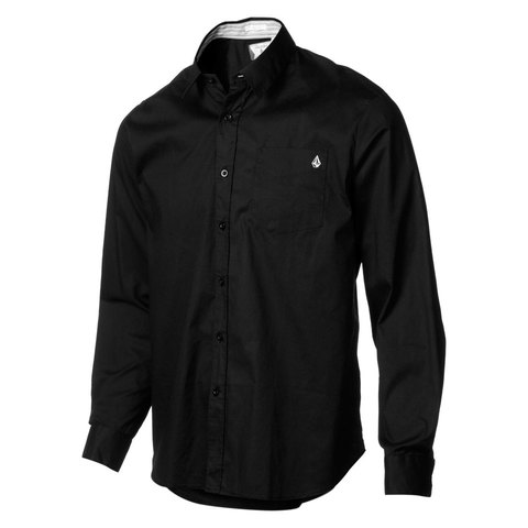 Volcom Why Factor Solid Longsleeve Shirt