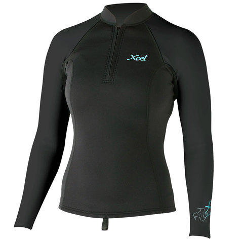 Xcel SLX Front Zip 2/1mm L/S Top - Women's