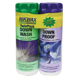 Nikwax Down Duo Pack - 10 oz