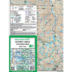 Green Trails Maps Alpine Lakes