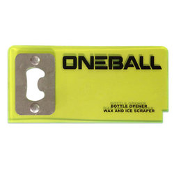 One Ball Jay Scraper Bottle Opener