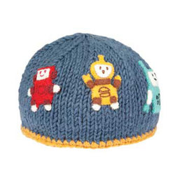Ambler Mountain Works Robots Beanie - Toddler
