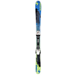 Blizzard Jr Gunsmoke with 7.0 Bindings - Kids 2015
