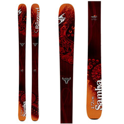 Blizzard Samba Skis - Women's 2014