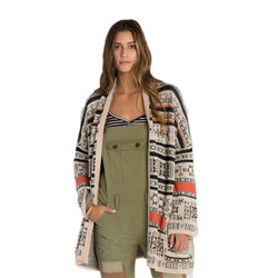 Billabong Aztec Trek Cardigan Sweater - Womens