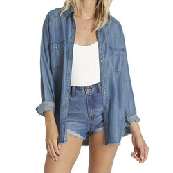 Billabong Blues River Denim Top - Women's