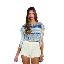 Billabong Fringed Seascape Sweater