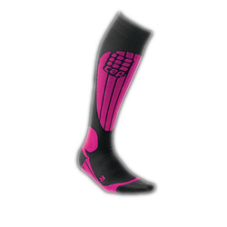 CEP Compression Thermo Ski Sock - Women's