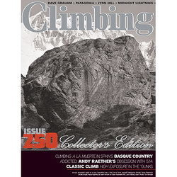 Climbing Magazine August Issue