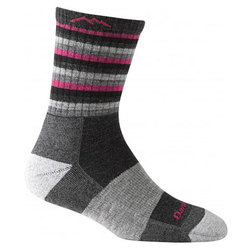 Darn Tough Vermont Stripe Micro Crew Cushion Socks - Women's