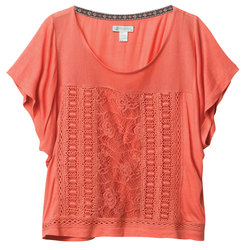 Element Blueprint Lace Top-Women's