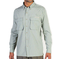 Ex Officio Air Strip Macro Plaid Shirt