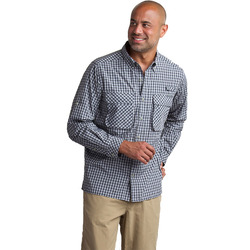 Ex Officio Air Strip Micro Plaid L/s