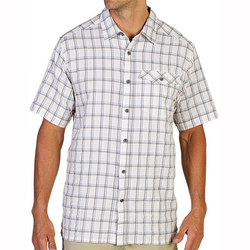 ExOfficio Quadrant Plaid S/S Shirt