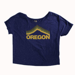 Grafletics Mt Hood Slouchy Tee - Women's