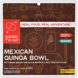 Good To Go Mexican Quinoa Bowl Double Serving