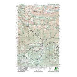 Green Trails Maps Mount Stuart
