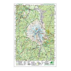 Green Trails Maps Mount Adams