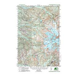 Green Trails Maps Mt Rainer West