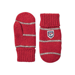 Hestra Striped Wool Mitt Junior