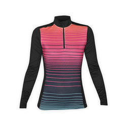 Hot Chillys MTF4000 Sublimated Print Zip-T - Women's