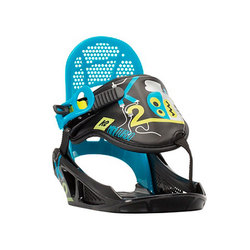 K2 Mini Turbo Snowboard Bindings - Kids' 2016