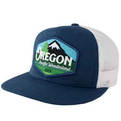 Little Bay Root Oregon Pacific Wonderland Vintage Trucker Hat
